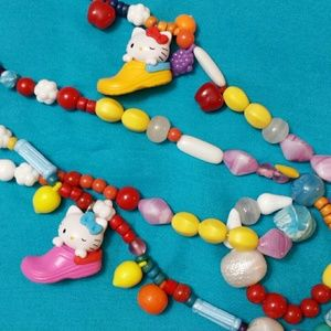 Jewelry - *FINAL PRICE* Hello Kitty Vintage Bead Necklace